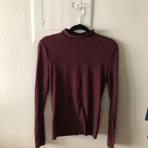 Never worn F22 red turtle neck